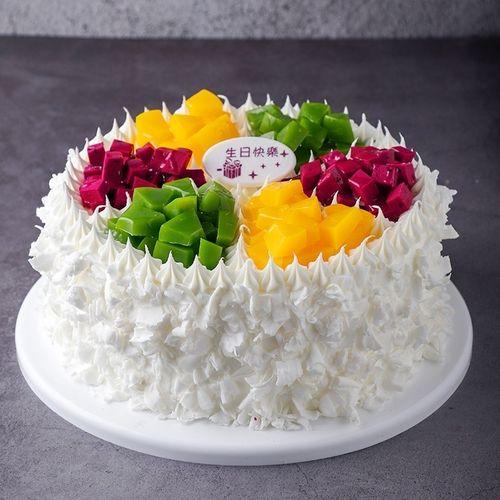 样品格格设计塑胶宫廷新品宫廷艺术生日蛋糕会不褪色