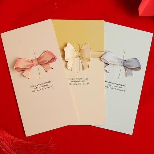 创意3d立体生日贺卡明信片新年卡片教师节礼物送老师