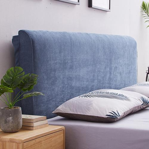 现代简约可拆洗床头靠背海绵软靠双靠垫套榻榻米