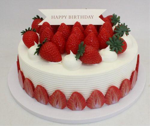 特价新款水果仿真生日蛋糕模型  欧式水果蛋糕模型