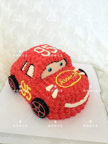 小汽车蛋糕(淡奶油)