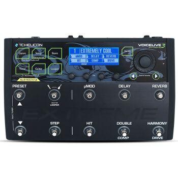 tc-helicon voicelive 3 extreme电吉他民谣木吉他人声和声效果器