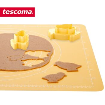 tescoma 捷克 烘焙模具卡通曲奇饼干模型 双面用卡通饼干模具套装