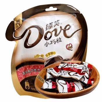 德芙dove德芙巧克力德芙香浓黑巧克力牛奶巧克力奶香白巧克力 香浓黑