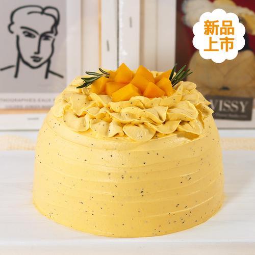 百香果芒果蛋糕