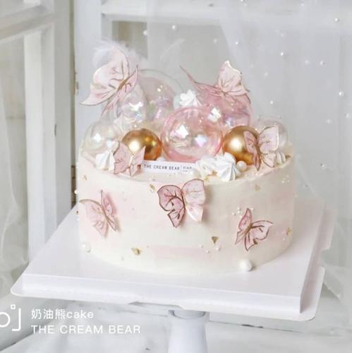 女神节日快乐插件38妇女节蛋糕装饰女神节插牌女神节