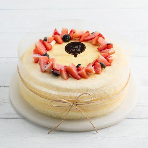 榴莲可丽多 8英寸千层蛋糕,q软千层手工煎制,软糯榴莲
