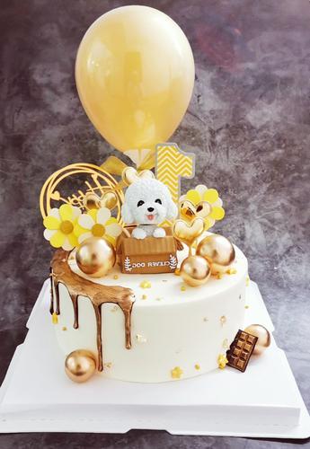 小狗蛋糕(奶油)
