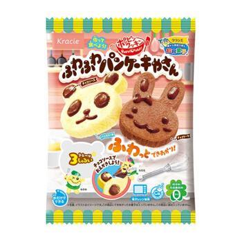 食玩可食兔子小熊蛋糕可以吃的小玲小林伶同款玩具进口 兔子小熊蛋糕