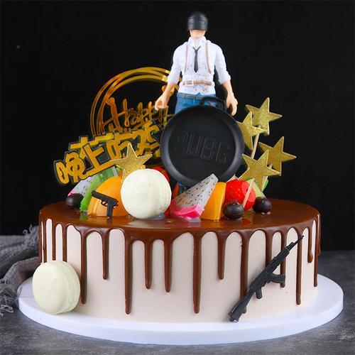 蛋糕模型仿真2021新款网红卡通生日蛋糕模型假蛋糕