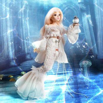 德必胜芭比娃娃玩具套装大礼盒十二星座娃娃换装巴比公主洋娃娃仿真