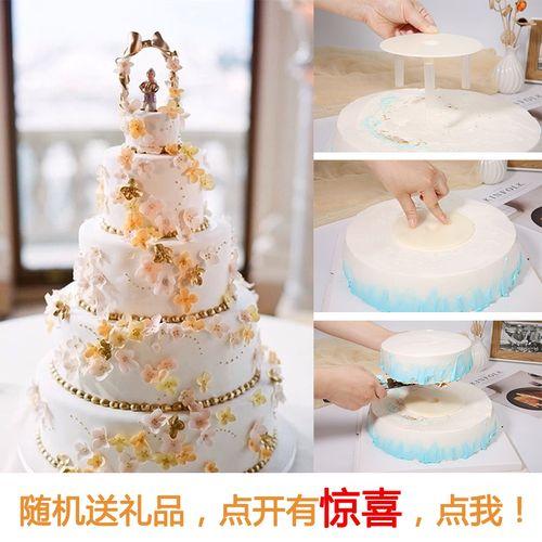 双层多层蛋糕加高打桩垫片承重支架神器6寸8寸10寸12
