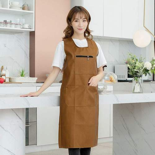 护衣罩衣大人背带式防水围裙厨房北欧反穿衣做饭亲子
