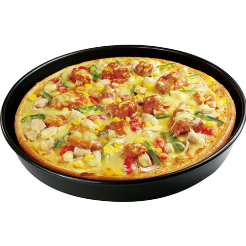 美臣9英寸7寸半成品披萨西餐原料超级至尊 牛肉 鸡肉海鲜培根香肠