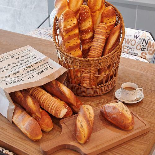 仿真面包模型欧包法棍食物食品摆件烘培店铺展厅橱窗