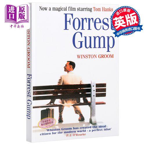 gump 阿甘正传英文版 经典励志小说 电影原著书 winston groom