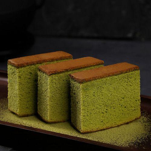 抹茶长崎面包批发整箱面包早餐休闲零食小吃抹茶 抹茶味长崎蛋糕1斤