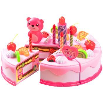 洛克星球 儿童过家家玩具仿真蛋糕切切乐早教玩具亲子互动宝宝男女孩