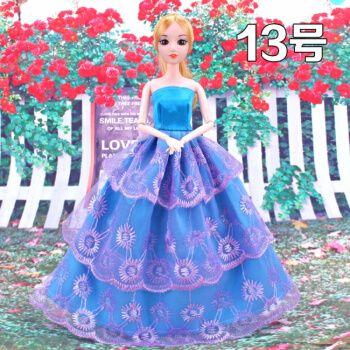【品质保证】芭比娃娃古装 芭比换装娃娃衣服婚纱裙子