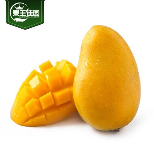 海南小台农芒果5斤精品包装 新鲜时令新鲜芒果水果三亚小芒果甜蜜