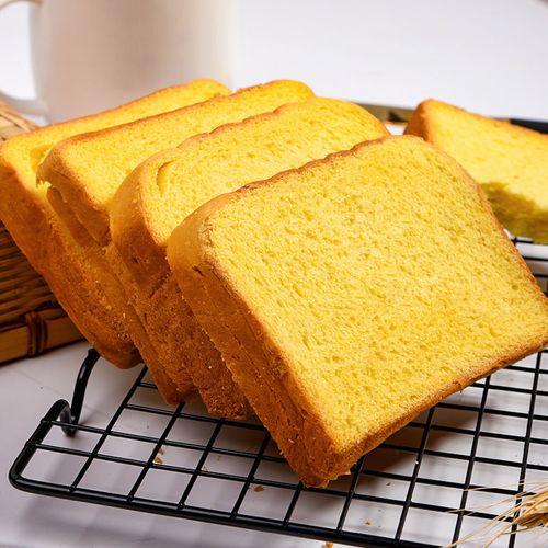 南瓜吐司网红早餐点心手撕面包休闲好吃的小零食品大
