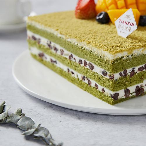 香雪绿茶慕斯 绿茶味蛋糕 118元/磅