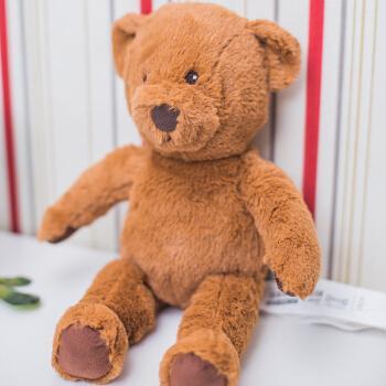 毛绒玩具熊布朗伯恩小熊玩偶公仔泰迪熊儿童宝宝生日礼物 图片色 33
