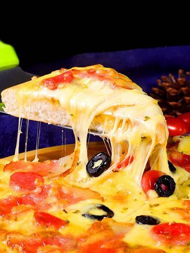 pizza 披萨饼皮薄厚饼披萨饼底即食半成品烘焙原料7寸