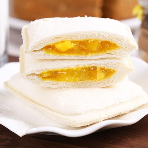 乳酸菌酸奶小口袋面包1000g早餐蛋糕菠萝夹心紫米面包整箱 菠萝+芒果
