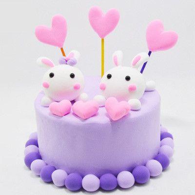 超轻粘土仿真奶油蛋糕套装材料包 儿童手工制作diy玩具 生日礼物