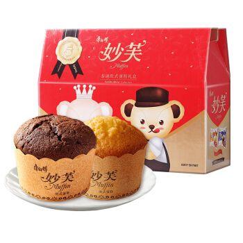 康师傅 妙芙欧式蛋糕礼盒 送礼休闲零食大礼包(巧克力+奶油) 960g(20