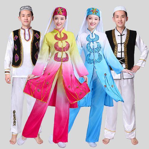 东乡族撒拉族回族舞蹈服装女成人宁夏少数民族穆斯林