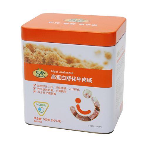 贝兜高蛋白舒化牛肉绒 100g/罐