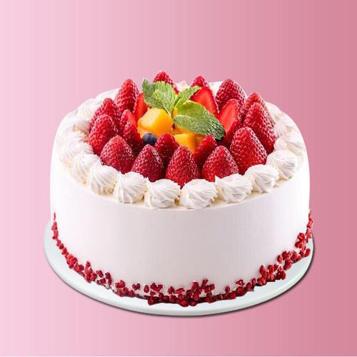 仿真生日蛋糕模型样品网红新款2020创意水果奶油欧式