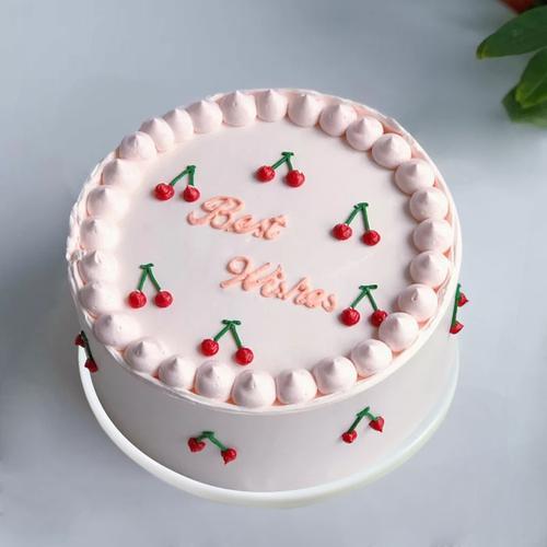 蛋糕模型仿真2021ins风简约欧式裱花生日塑胶样品摄影