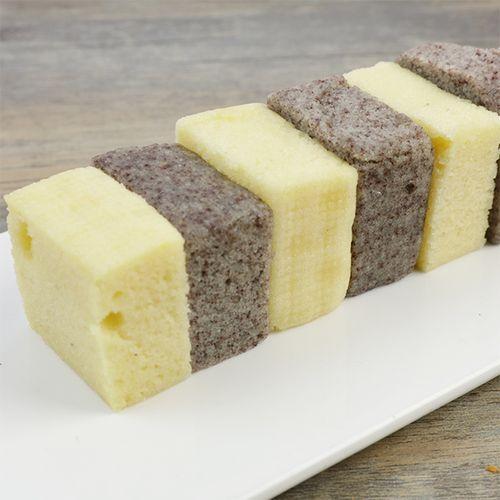 宁波手工现做糕点 小米糕黑米糕糯米桂花糕点心糕280克