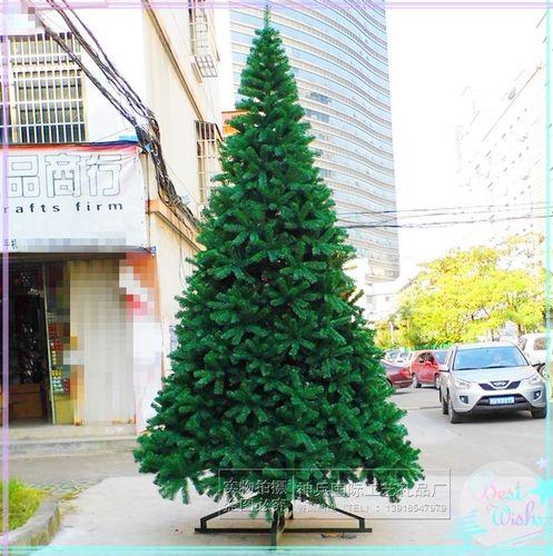 树5米加密3米室内3m厅装饰6米圣诞树4米套餐大堂大型