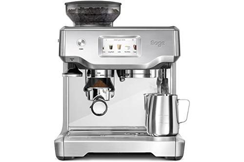 sage appliances 半自动意式浓缩咖啡机 lcd 触控操作