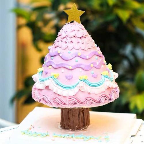 烘焙蛋糕工具 许愿树蛋糕 圣诞树蛋糕 打桩垫片架子 树桩蛋糕垫