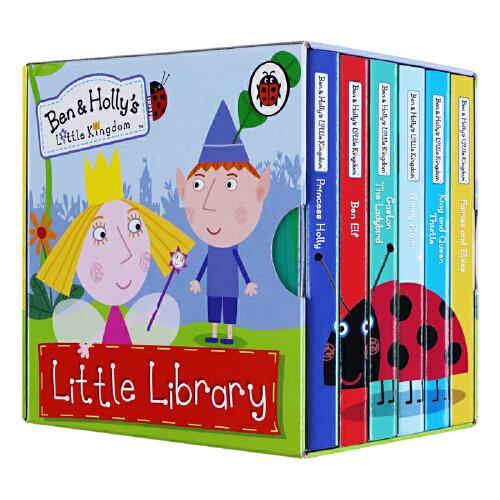 英文原版绘本 ben and holly's little kingdom 本和霍利的小王国 6册