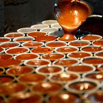 巧小南纯手工红糖  2斤巧家小碗红糖云南特产纯甘蔗手工小南巧土红糖
