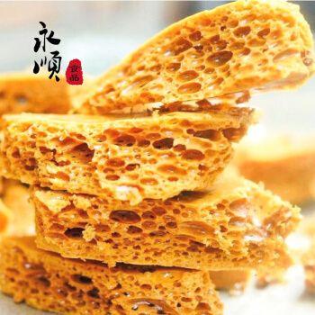 网红甜点零食酥脆却入口即化的糖果蜂巢脆饼蜂窝糖100