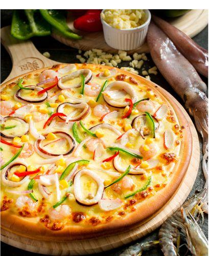 披萨成品早餐加热即食半成品速冻材料披萨饼懒人家用