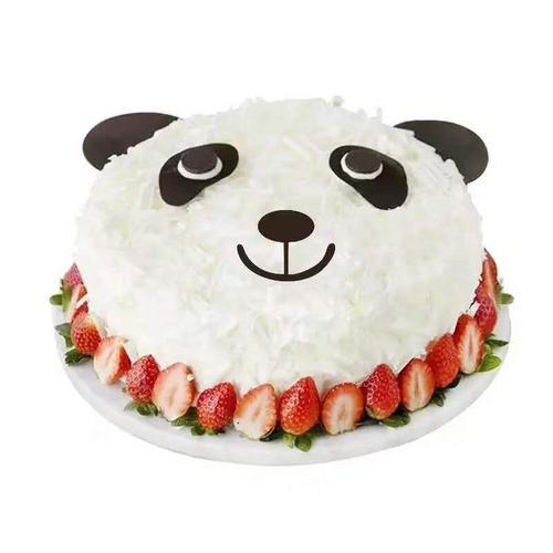 【多多熊卡通生日蛋糕大约6英寸*1盒】多喜来社区团购
