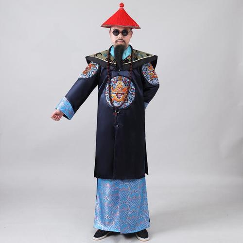 和服亲王大服装僵尸影视古装清朝王爷臣服服饰大臣