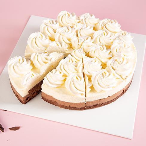 皇家美孚生日蛋糕冷冻蛋糕香草巧克力青岛市区免费配送