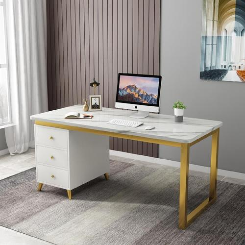 培训桌会议桌木质隔板家用初中生电脑办公桌子办公室