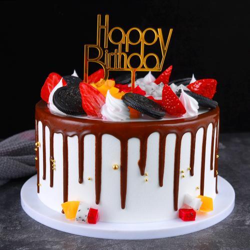 蛋糕模型仿真2021新款网红水果生日蛋糕模型假蛋糕