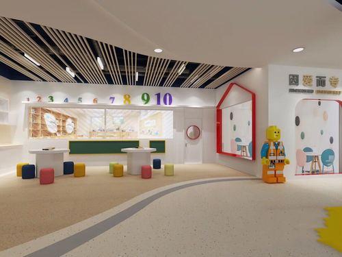 广州培训机构装修学校舞蹈瑜伽早教亲子早教中心设计