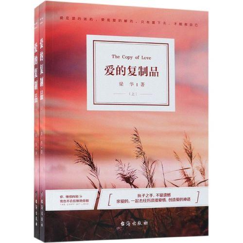 正版包邮 爱的复制品上下册完结版全套2册知名作者梁华著温暖人心的